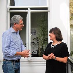 Jan de Vries und Yvonne Dolan